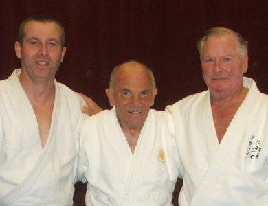 Shihan David, Sensei Pike & Soke Jones